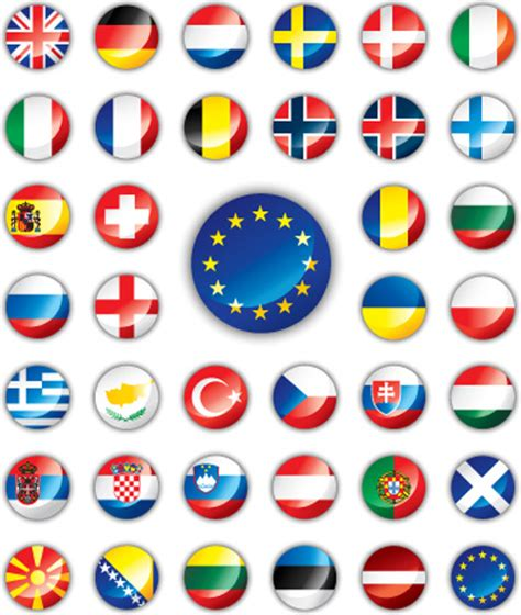 flags of the world to download free set of world flags icons mix design vector free vector in