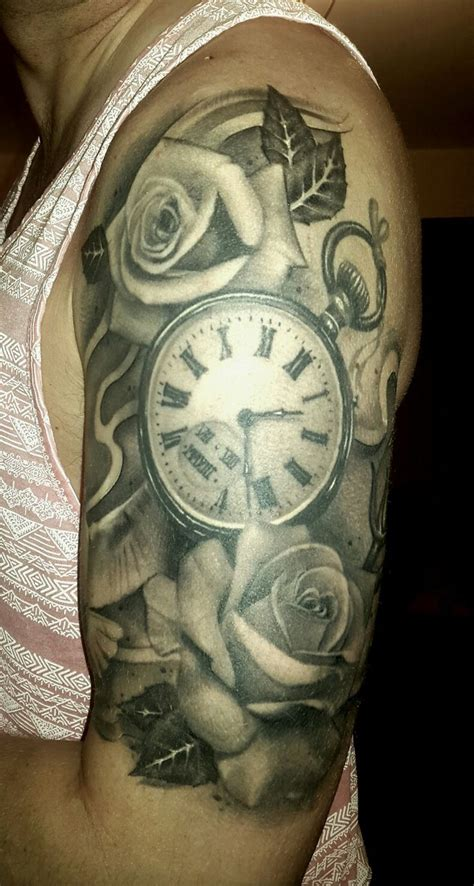 watch and rose tattoo 47 best side tattoos for pocket images on