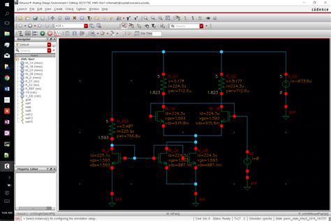 pcb layout software cadence how do you annotate region of operation for nmos