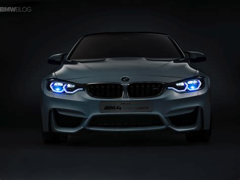 Bmw Lights world premiere bmw m4 concept iconic lights