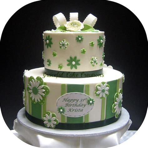 new year green cake green and white birthday cake grace tari flickr