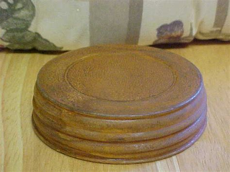 Decorative Canning Jar Lids by Wide Decorative Primitive Rustic Jar Lids