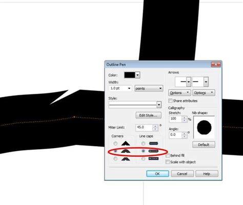 eraser tool in coreldraw x5 need help with jagged edges coreldraw x5 coreldraw