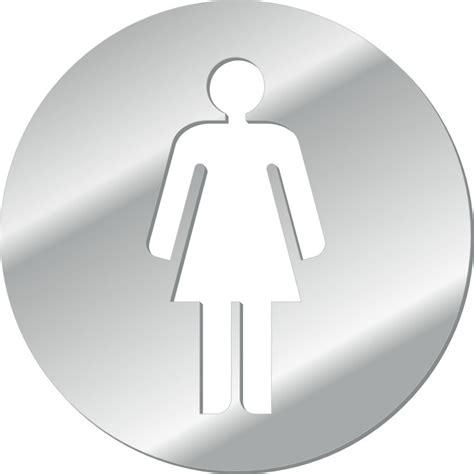 symbol for bathroom mirror acrylic restroom symbols bathroom symbols women