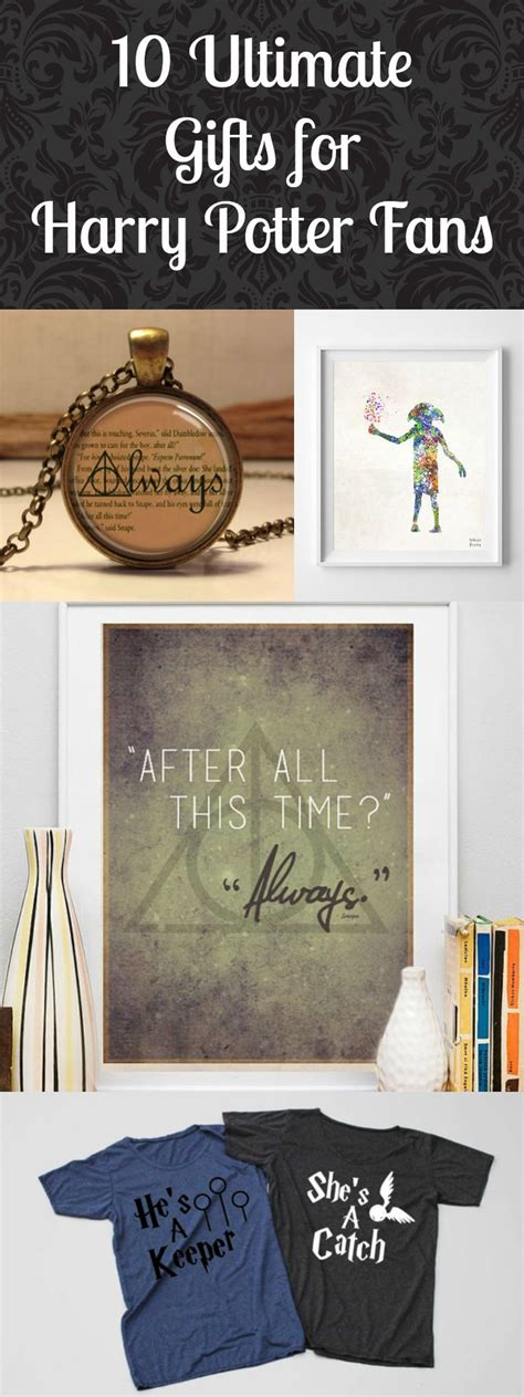 gift ideas for harry potter fans 1000 ideas about harry potter gifts on pinterest harry