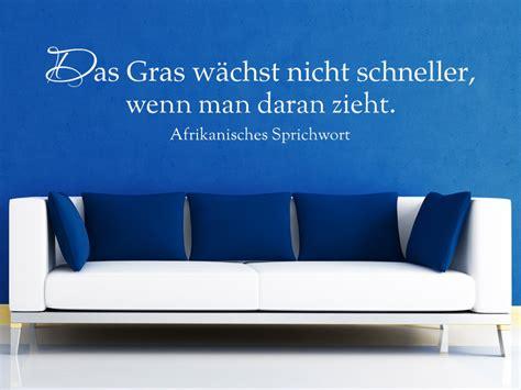 Wandtattoo Gras Kinderzimmer by Wandtattoo Das Gras W 228 Chst Nicht Schneller Sprichwort