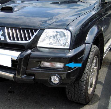 bumper depan strada l200 model arb clear front bumper side indicator light for mitsubishi