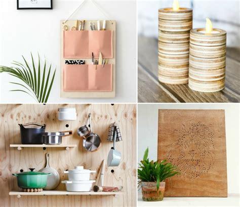 deko basteln ideen mit sperrholz basteln dekorieren 10 tolle diy ideen