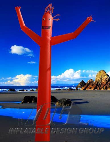 red design group instagram custom sky dancers from inflatable design group
