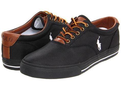polo ralph vaughn polo black black cordrua leather zappos free shipping both ways
