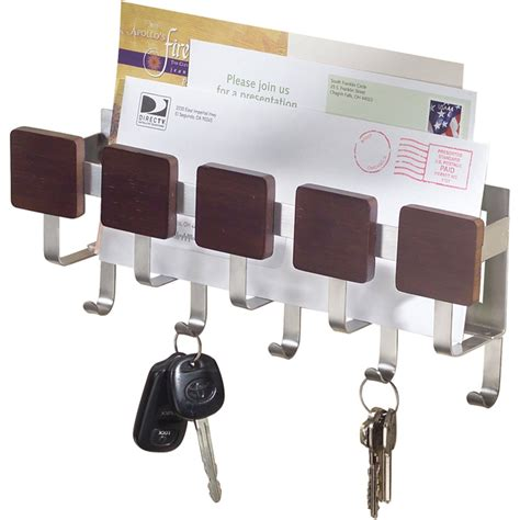 Wall Mounted Mail Organizer And Key Rack by Wall Mount Mail And Key Rack Formbu In Mail Organizers