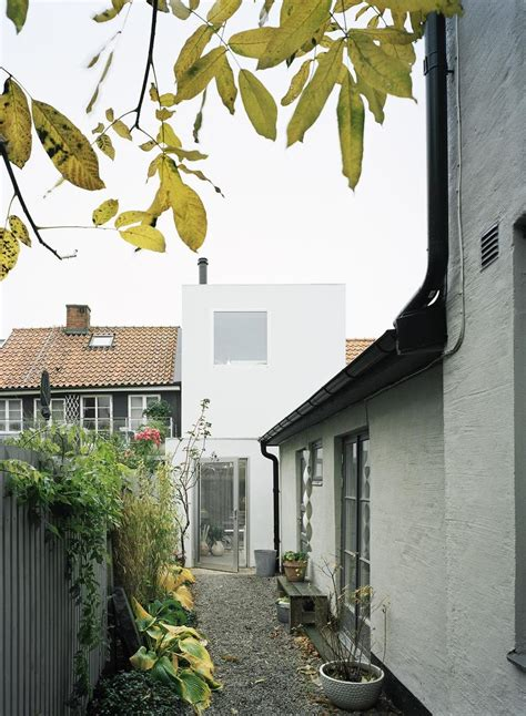 white house office definition architect elding oscarson adds a vibrant white townhouse to a sleepy swedish street
