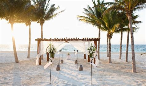 Excellence Riviera Cancun Wedding   Modern Destination