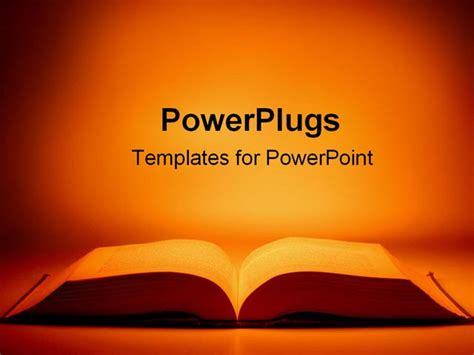 book powerpoint templates book powerpoint template template design