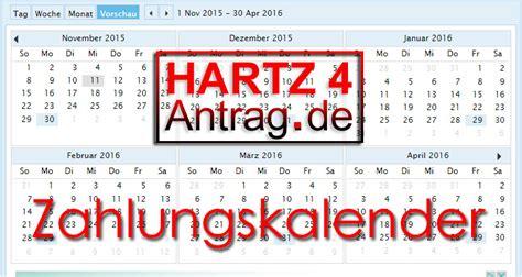 wann gibt es hartz 4 hartz 4 kalender wann das geld 252 berwiesen wird