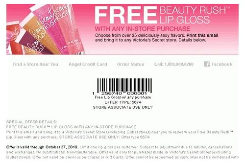 victoria secret coupon codes for december 2018