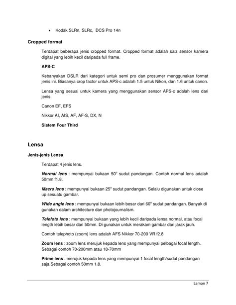 gambar format ota nota asas digital fotografi free version
