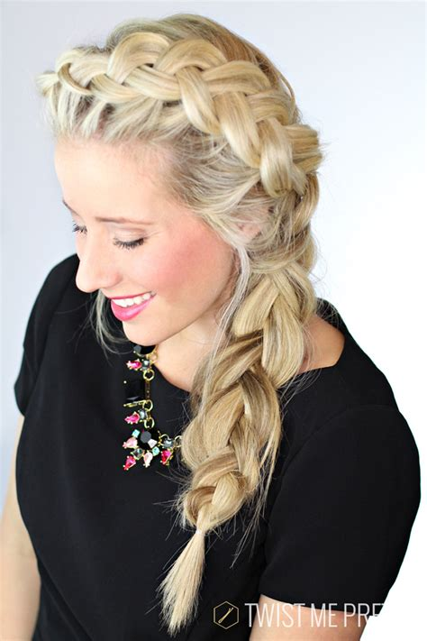 elsa braid day  twist  pretty