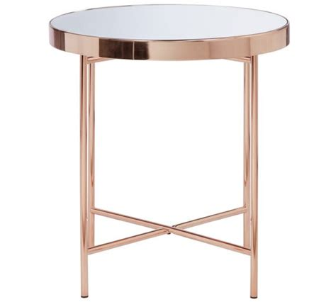 Argos Side Tables with Buy Collection Glass Top Side Table Copper Plated At Argos Co Uk Your Shop For