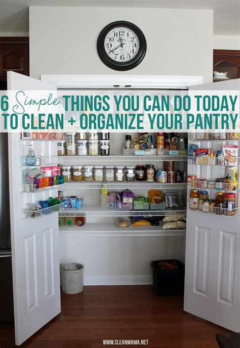 6 six tips to organize your pantry 17 best images about pantry fridge freezer on pinterest