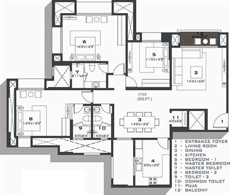 brentwood floor plan hiranandani brentwood in navallur chennai price location map floor plan reviews