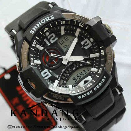 Jam Tangan Wanita Digitec Black Dualtime Analog Digital Original shhors ga1000 dualtime black pria original jam tangan