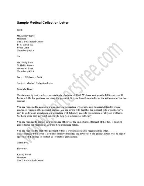 Patient Billing Letter 1000 Images About Sle Collection Letters On Collection Letter To Work And The O