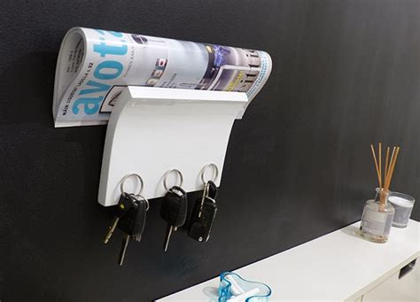 Wall Mounted Mail Organizer And Key Rack by Key And Mail Organizer Wall Mount Interior Design Ideas