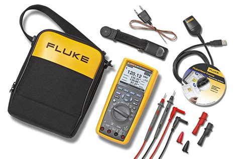 Fluke Tpak Toolpak Tm Magnetic Meter Hanger fluke 287 true rms electronics logging multimeter
