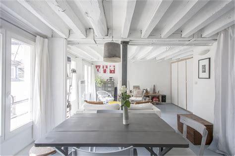 plafond poutre apparente poutre apparente cheap salle manger avec poutres
