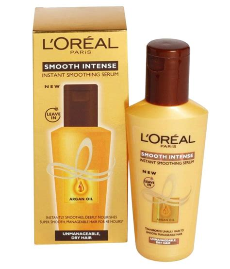 L'Oreal Paris Smooth Intense Hair Serum - 100 ml: Buy L ... L'oreal India