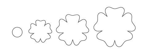 flores moldes para imprimir imagui flores en papel moldes imagui