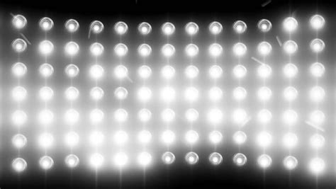 Stage Lights Flashing White Bright Concert Lights White Lights