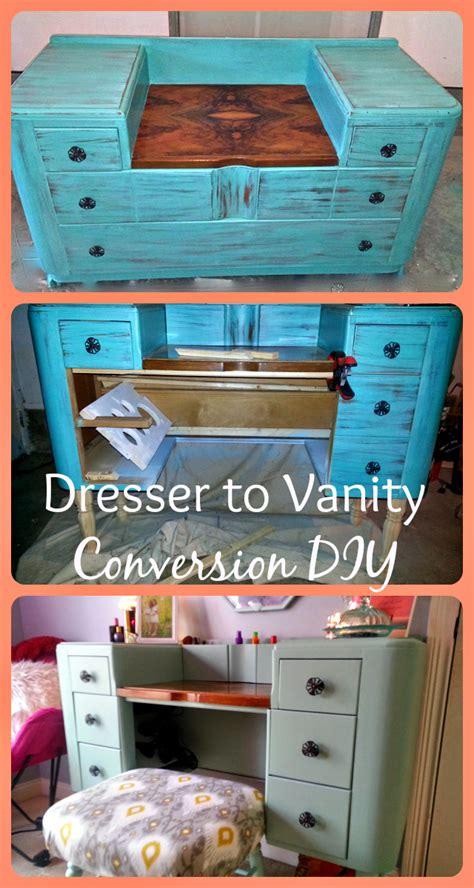 diy dresser  vanity conversion diy vanity diy makeup