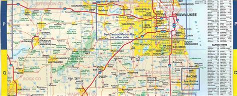 road map of wi southeast wisconsin road map pictures to pin on