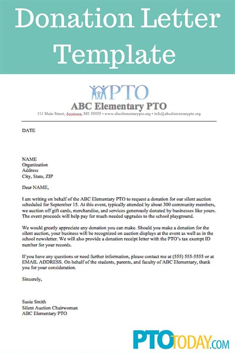 donation letter template for schools fundraising made effortless with 13 donation request letters