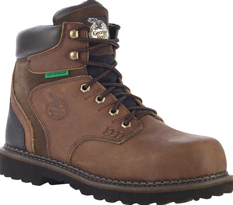 brookville mens brown leather waterproof
