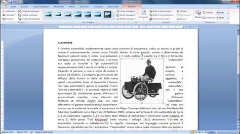 come in un testo tutorial word inserire immagini in un testo office 2007