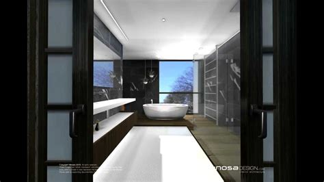 asian inspired modern bathroom by minosa youtube
