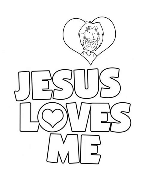 jesus loves me cross coloring page coloring pages love jesus jesus loves me jesus love