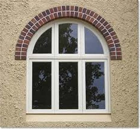 Arched Windows Pictures Wonderful Brick Top Arched Windows Frame With White Painted As Well As 6 Panels Glass Windows As