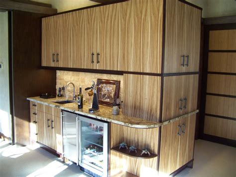 Zebra Wood Cabinets Kitchen Zebrawood Bar Cabinets By Les Hastings Lumberjocks Woodworking Community