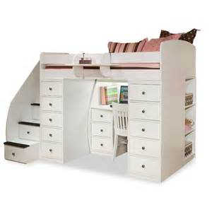Berg sierra twin space saver loft bed with desk and storage amp reviews