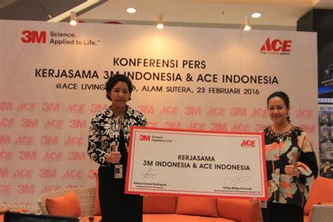 ace hardware online indonesia produk 3m kini dijual di gerai ace hardware palapa news