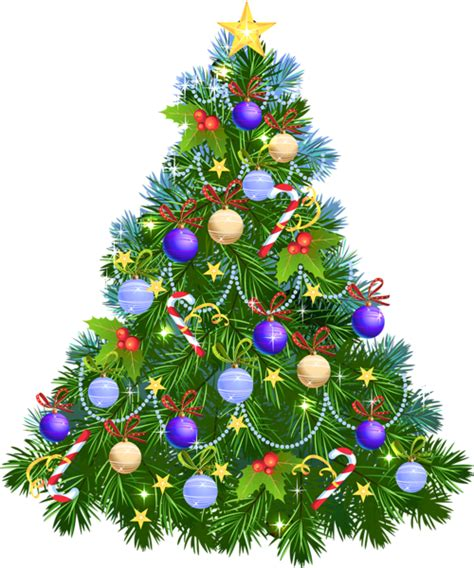image of christmas tree transparent png christmas tree with purple ornaments