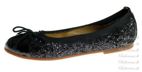 sko c 1 30 63 sofie schnoor ballerina sko glimmer black p146c