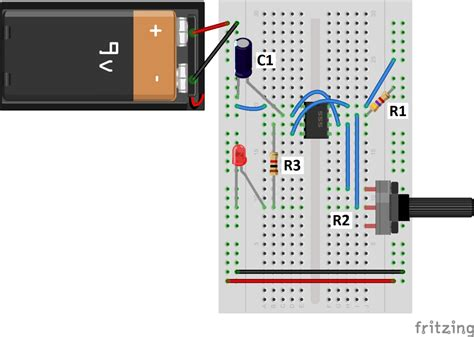 how to set a light timer with pins 555 timer basics astable mode