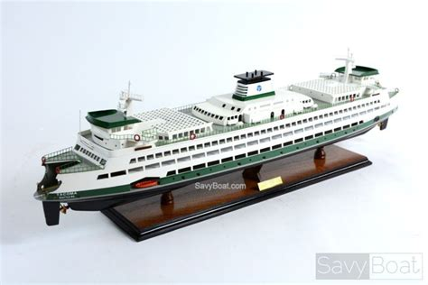 washington state ferry boat 36 quot handcrafted wooden model - Wooden Boat Kits Washington State