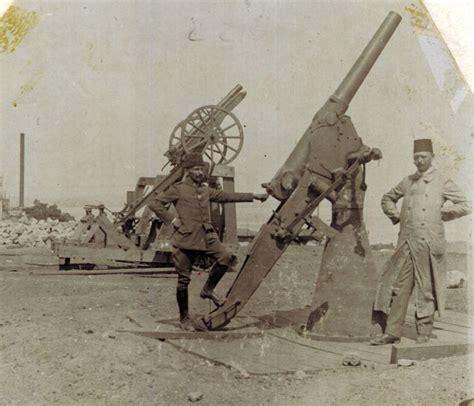 ww1 ottoman ottoman anti aircraft guns at gallipoli date c1915 ww1