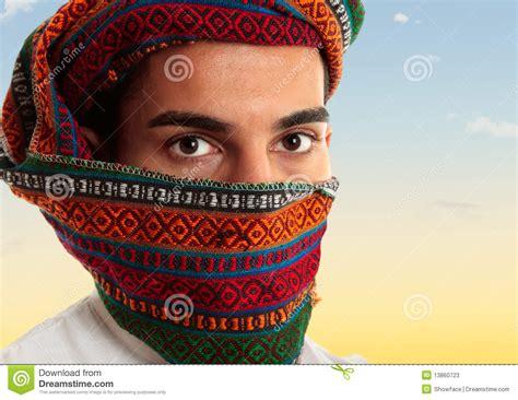 arab headdress pattern arab man wearing keffiyeh stock image image of pattern
